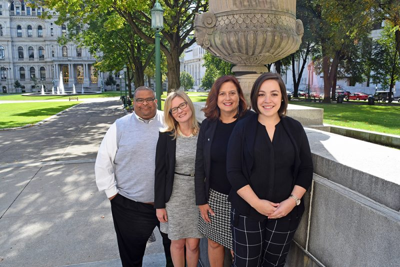 Here to help you every step of the way, the Retail Council's processing experts (L to R) Henry Johnson, Nicholl Lockwood, Michele Coons and Carly Brentini.